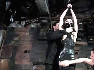 Black Spandex Restraint Bondage