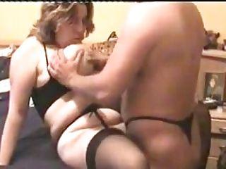 Big Scones Bbw Mom In Black Stockings Rectal