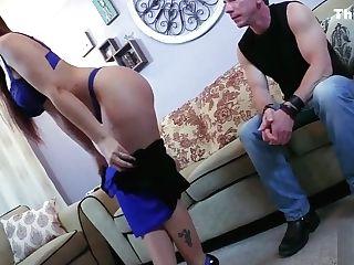 Uppity Cougar Gets Brutal Dick Down
