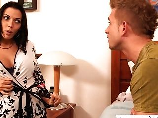 Dad's Fresh Whore Rachel Starr Gives Her Head And Permits To Penetrate Cootchie
