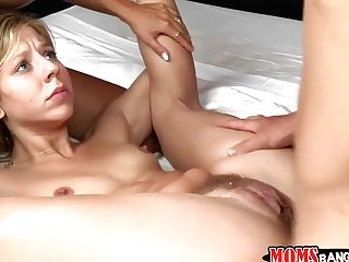 Mom & Step-daughter-in-law Get Their Vaginas Pounded