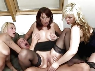 Hot Matures Mothers Sharing Youthful Sons-in-law