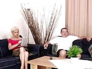 Horny Parents Entice Their Sonny's Gf