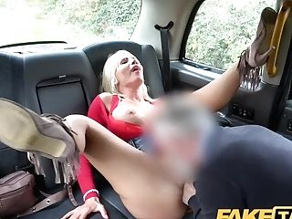 """faux Cab Rough Backseat Fuck For Sexy Hungarian Cougar Tiffany Rousso"""