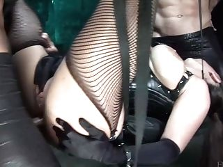 Wild Big-chested Whore In Spandex Corset Jamie Barry Rails Dick For Superb Assfuck